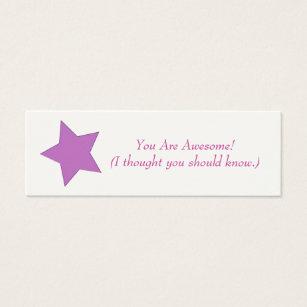 Mood business cards templates zazzle mini business card colourmoves Gallery