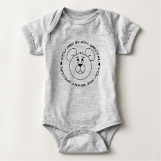 You are Beary Special Baby Creeper Outfit