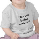 You are being watched baby t t-shirt