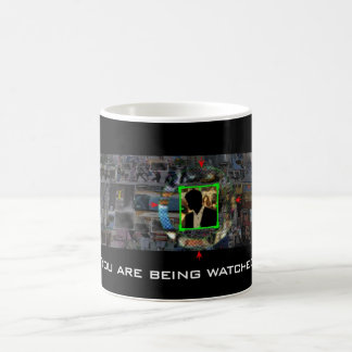 You Are Being Watched: Person of Interest Classic White Coffee Mug