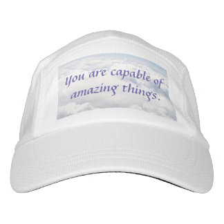 You Are Capable of Amazing Things Headsweats Hat