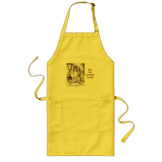 You Are Cordially Invited Frog Fish Footmen Long Apron