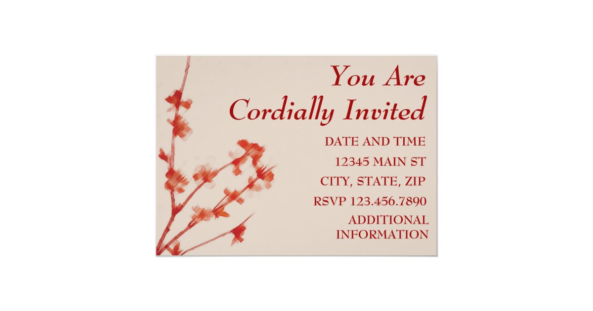 You Are Cordially Invited To The Wedding: YOU ARE CORDIALLY INVITED INVITATION