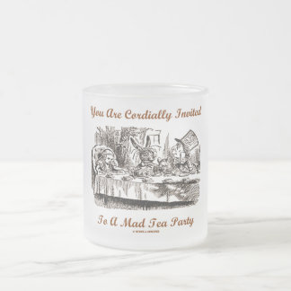 You Are Cordially Invited To A Mad Tea Party Mugs