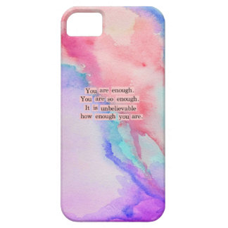 YOU ARE ENOUGH iPhone SE/5/5s CASE