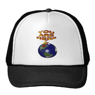 You are ere Earth Trucker Hat