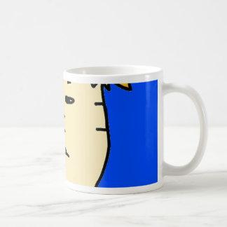 you are fired cartoon boy coffee mug