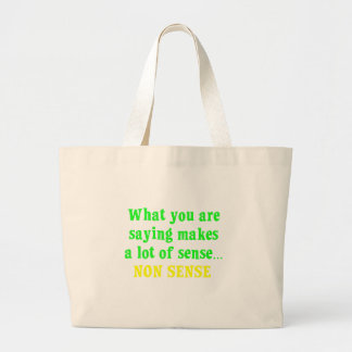 You are full of nonsense (2) bags