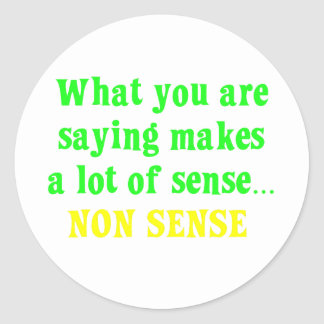 You are full of nonsense (2) stickers