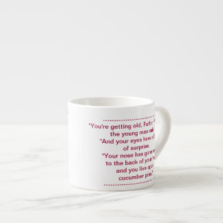 You are getting Old Father William 2 Mug