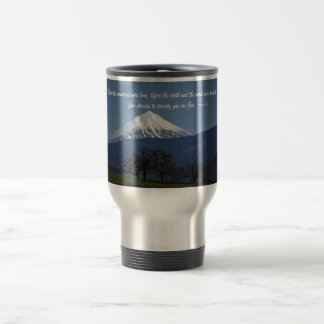 You are God - Psalm 90:2 15 Oz Stainless Steel Travel Mug