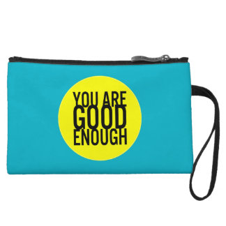 You Are Good Enough (Choose Your Own Color) Wristlet Wallet