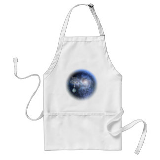 You are here adult apron