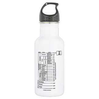 You Are Here (Geological Age Earth's History) Water Bottle