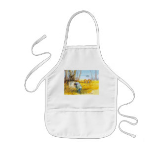 You are here kids' apron