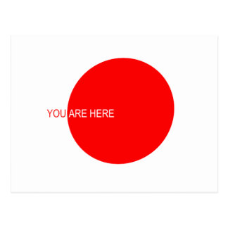You ARE Here logo by: David Lee Postcard