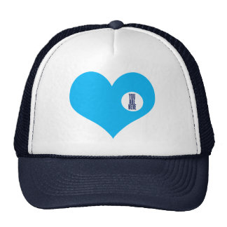 YOU ARE HERE - love and valentine's day gift Trucker Hat