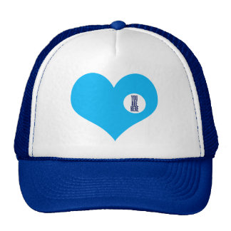 YOU ARE HERE - love and valentine's day gift Trucker Hats