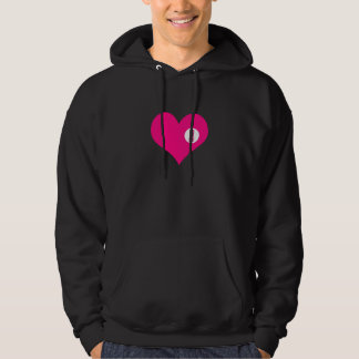 YOU ARE HERE - love and valentine's day gift Hoodie