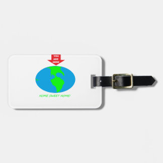 YOU ARE HERE BAG TAGS