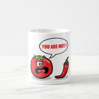You are hot ! coffee mug