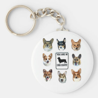 You Are In Corgi Country Key Chain