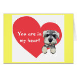 You Are In My Heart Greeting Card