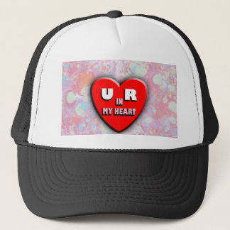 You Are In My Heart Trucker Hat