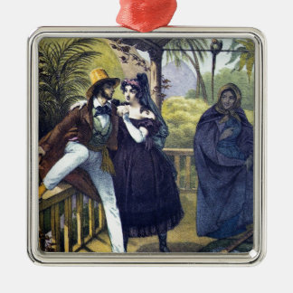 You are in the habit of of Rio De Janeiro, 1820 Metal Ornament