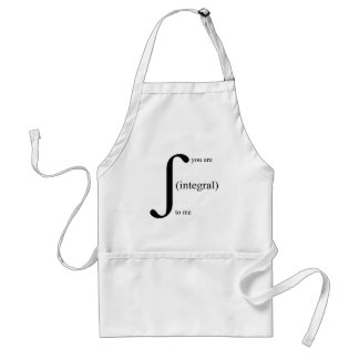 You Are Integral To Me Adult Apron