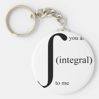 You Are Integral To Me Keychain