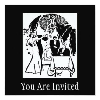 You Are Invited 5.25x5.25 Square Paper Invitation Card