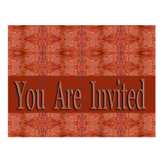 You Are Invited Postcard