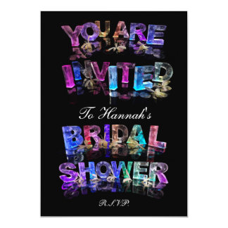 You Are Invited to a Bridal Shower 5x7 Paper Invitation Card