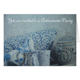 You are Invited To a Retirement Party Invitation Greeting Card