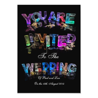 You Are Invited to a Wedding Card
