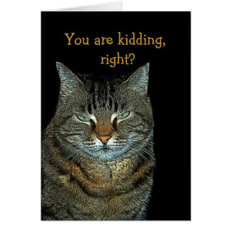 You are kidding, right? stationery note card