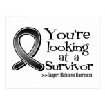You are Looking at a Melanoma Survivor Postcards
