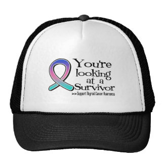 You are Looking at a Thyroid Cancer Survivor Trucker Hat