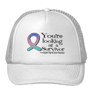 You are Looking at a Thyroid Cancer Survivor Mesh Hat