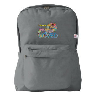 You are loved backpack