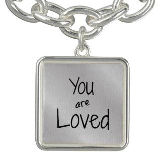 You are loved bracelet