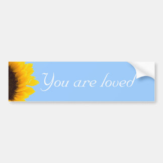 You are loved Bumper Sticker
