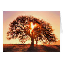 You Are Loved Heart and Oak Tree
