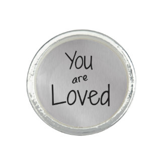 You are loved photo rings