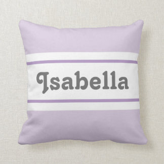 You are Loved (Purple) Pillow Custom Name