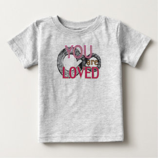 You are loved tee shirt