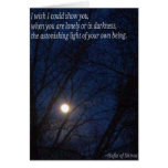 You are luminous greeting cards