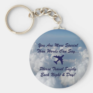 You Are More Special Basic Round Button Keychain