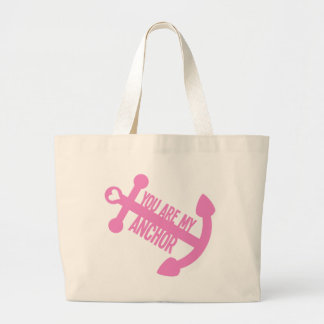 You Are My Anchor Canvas Bag